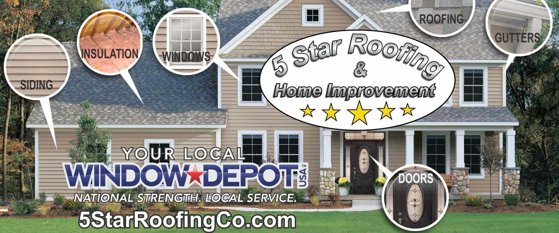 Roofing Windows Siding Seamless Gutters Dumpster